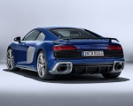 2019 Audi R8 (Color: Ascari Blue Metallic) Rear Three-Quarter Wallpaper 150x120 (40)