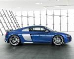 2019 Audi R8 (Color: Ascari Blue Metallic) Side Wallpapers 150x120 (42)