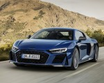 2019 Audi R8 Coupe (Color: Ascari Blue Metallic) Front Three-Quarter Wallpaper 150x120 (4)