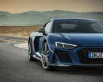 2019 Audi R8 Coupe (Color: Ascari Blue Metallic) Front Wallpaper 150x120 (9)