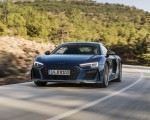 2019 Audi R8 Coupe (Color: Ascari Blue Metallic) Front Wallpaper 150x120 (5)