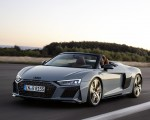 2019 Audi R8 Spyder (Color: Kemora Gray Metallic) Front Three-Quarter Wallpaper 150x120 (36)