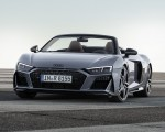 2019 Audi R8 Spyder (Color: Kemora Gray Metallic) Front Wallpaper 150x120 (33)