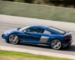 2019 Audi R8 V10 Coupe (Color: Ascari Blue Metallic) Side Wallpapers 150x120 (7)