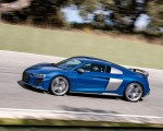 2019 Audi R8 V10 Coupe (Color: Ascari Blue Metallic) Side Wallpapers 150x120 (6)