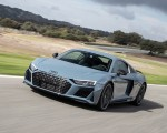2019 Audi R8 V10 Coupe (Color: Kemora Gray Metallic) Front Three-Quarter Wallpapers 150x120 (10)