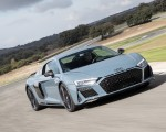 2019 Audi R8 V10 Coupe (Color: Kemora Gray Metallic) Front Three-Quarter Wallpapers 150x120 (21)