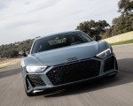 2019 Audi R8 V10 Coupe (Color: Kemora Gray Metallic) Front Wallpapers 150x120 (11)