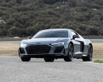 2019 Audi R8 V10 Coupe (Color: Kemora Gray Metallic) Front Wallpapers 150x120 (23)