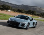 2019 Audi R8 V10 Coupe (Color: Kemora Gray Metallic) Front Wallpapers 150x120 (17)