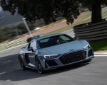 2019 Audi R8 V10 Coupe (Color: Kemora Gray Metallic) Front Wallpapers 150x120 (24)
