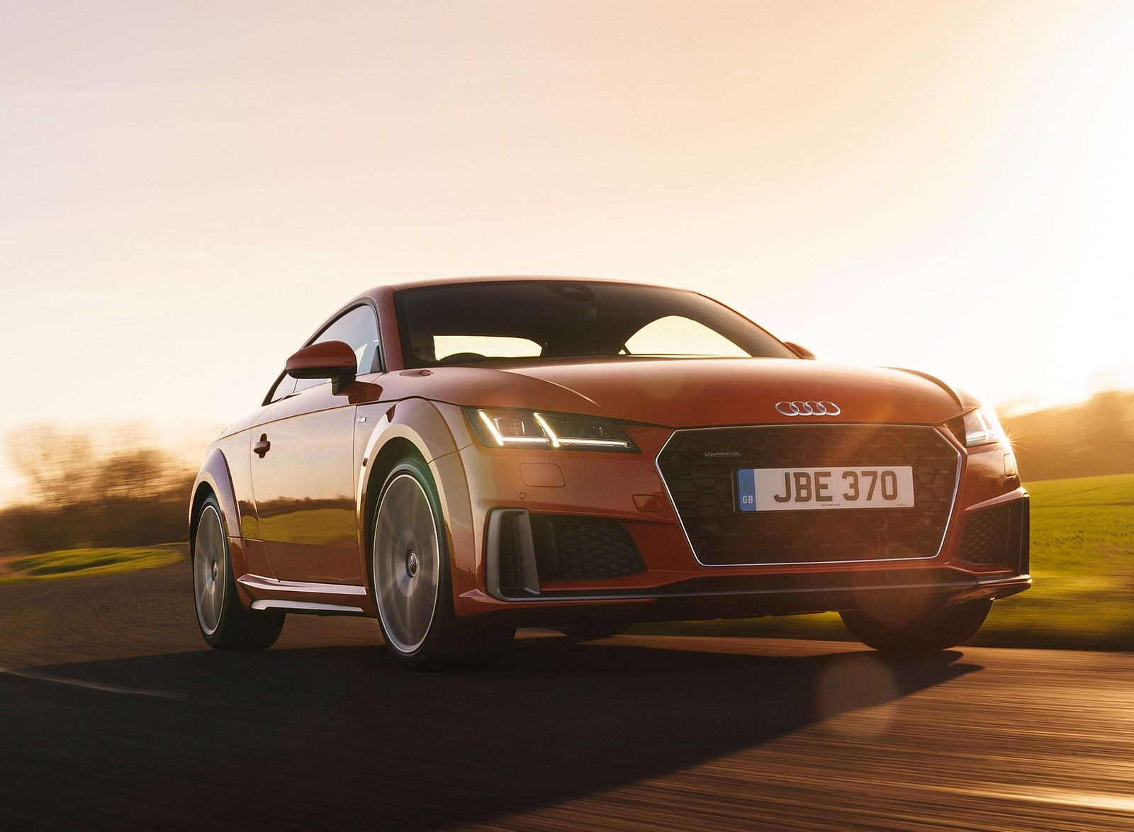 2019 Audi TT Coupe (UK-Spec) Front Three-Quarter Wallpapers (9)