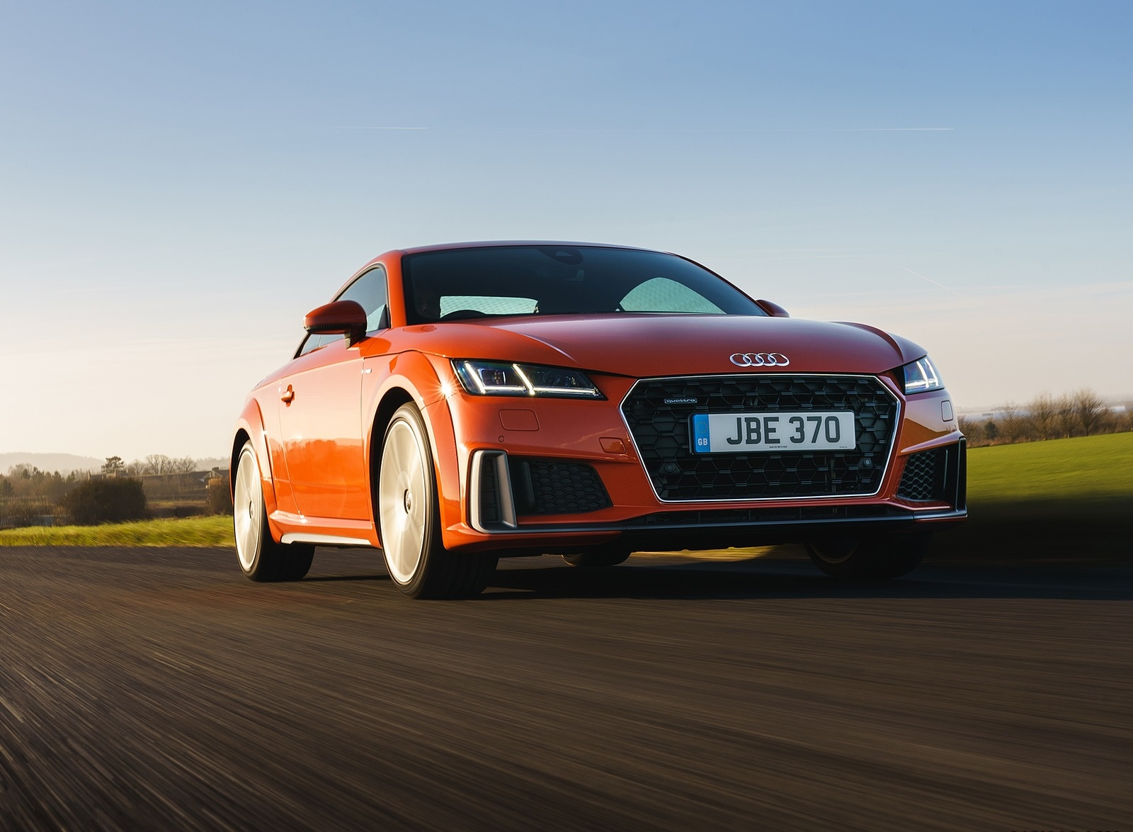 2019 Audi TT Coupe (UK-Spec) Front Three-Quarter Wallpapers (10)