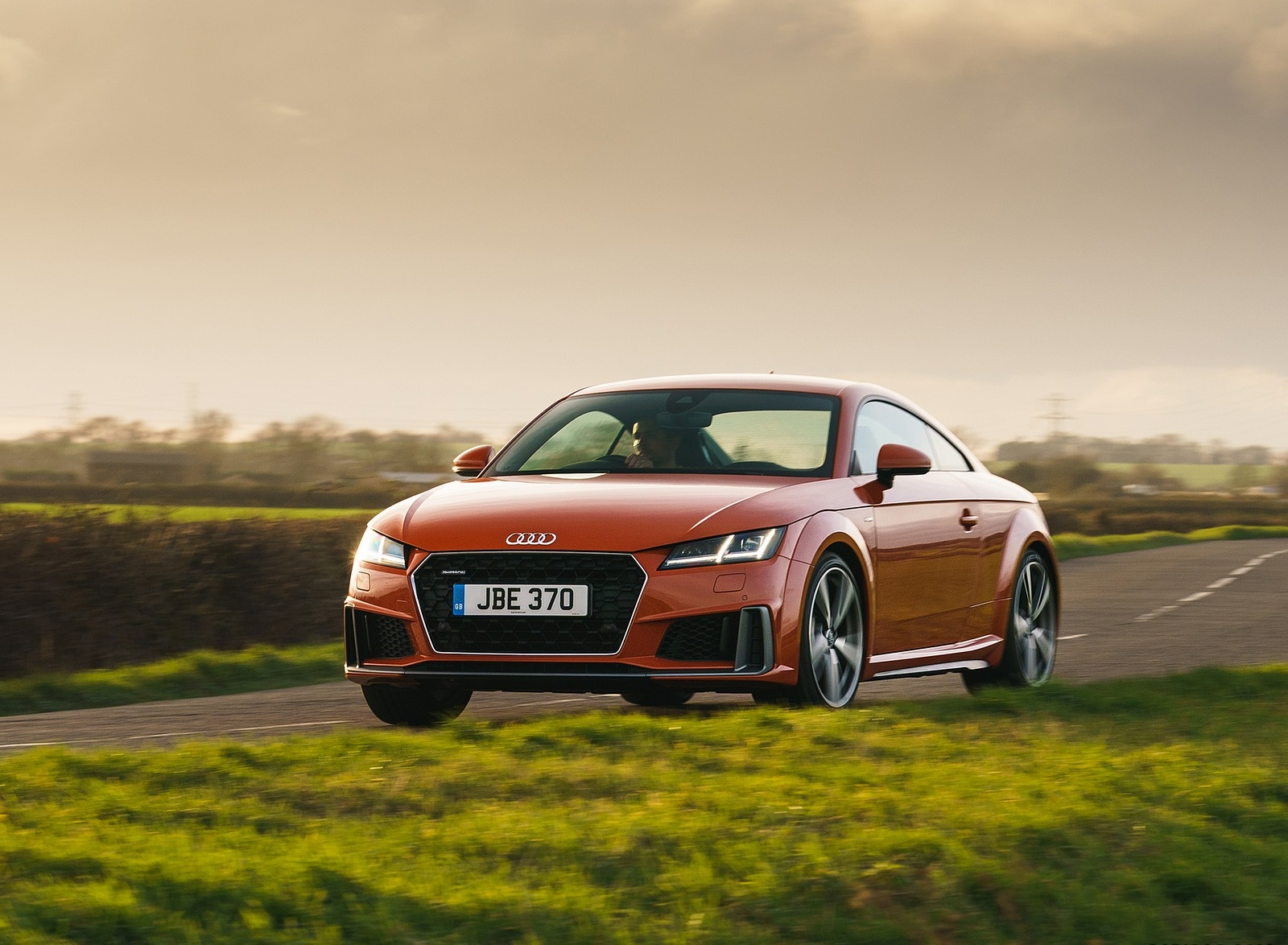 2019 Audi TT Coupe (UK-Spec) Front Three-Quarter Wallpapers (3)
