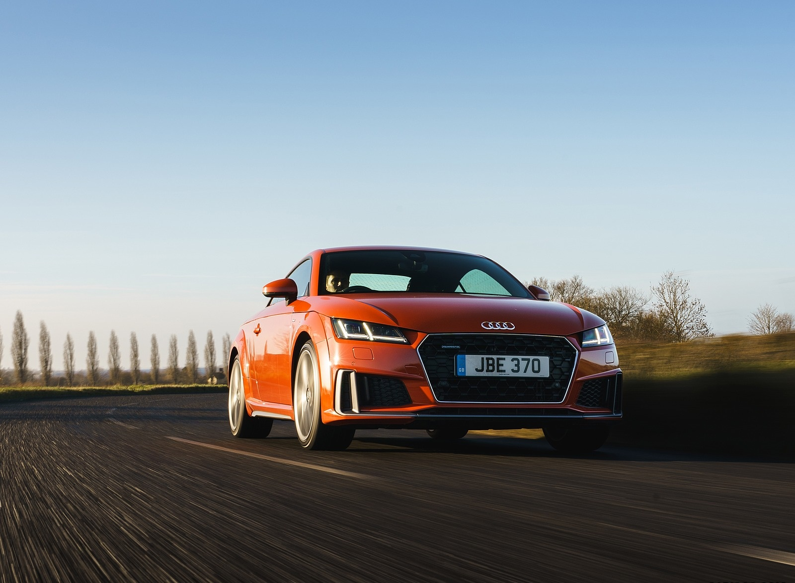 2019 Audi TT Coupe (UK-Spec) Front Wallpapers (12)