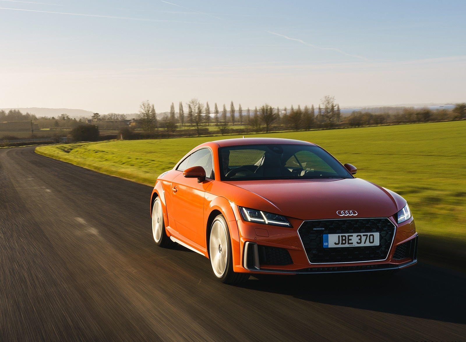 2019 Audi TT Coupe (UK-Spec) Front Wallpapers (14)