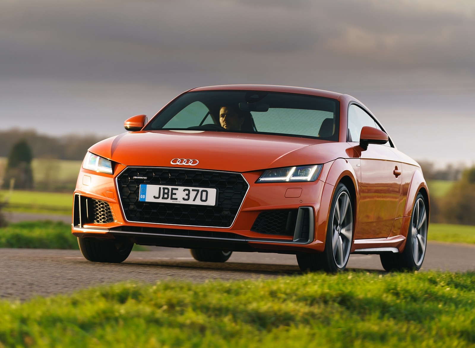 2019 Audi TT Coupe (UK-Spec) Front Wallpapers (4)