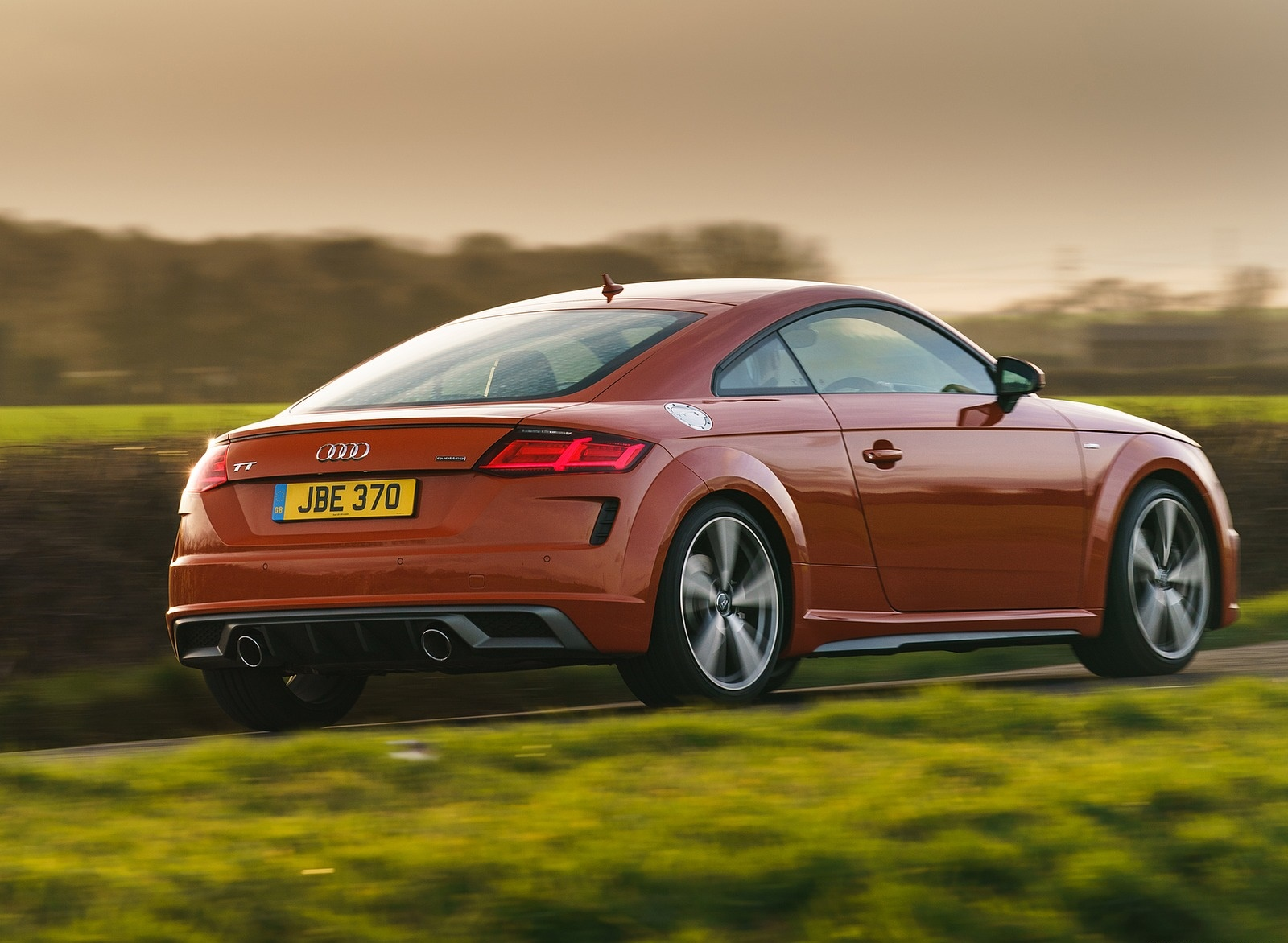 2019 Audi TT Coupe (UK-Spec) Rear Three-Quarter Wallpapers (5)