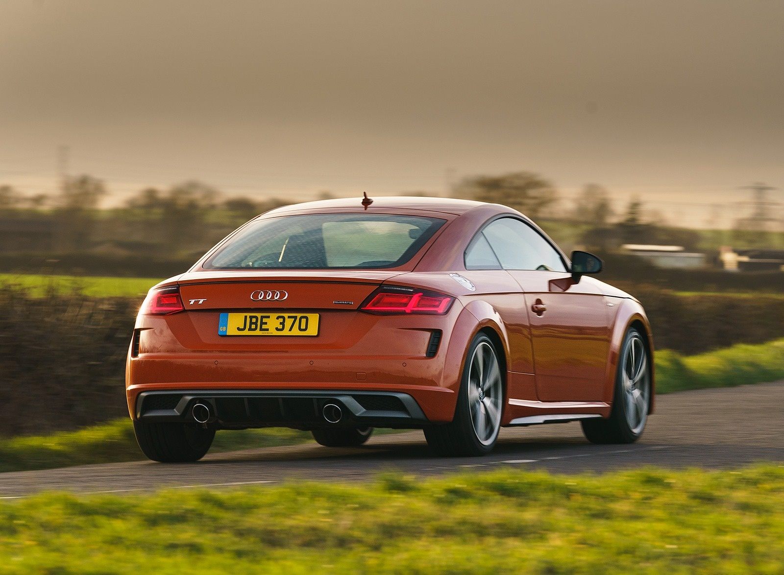 2019 Audi TT Coupe (UK-Spec) Rear Three-Quarter Wallpapers (6)