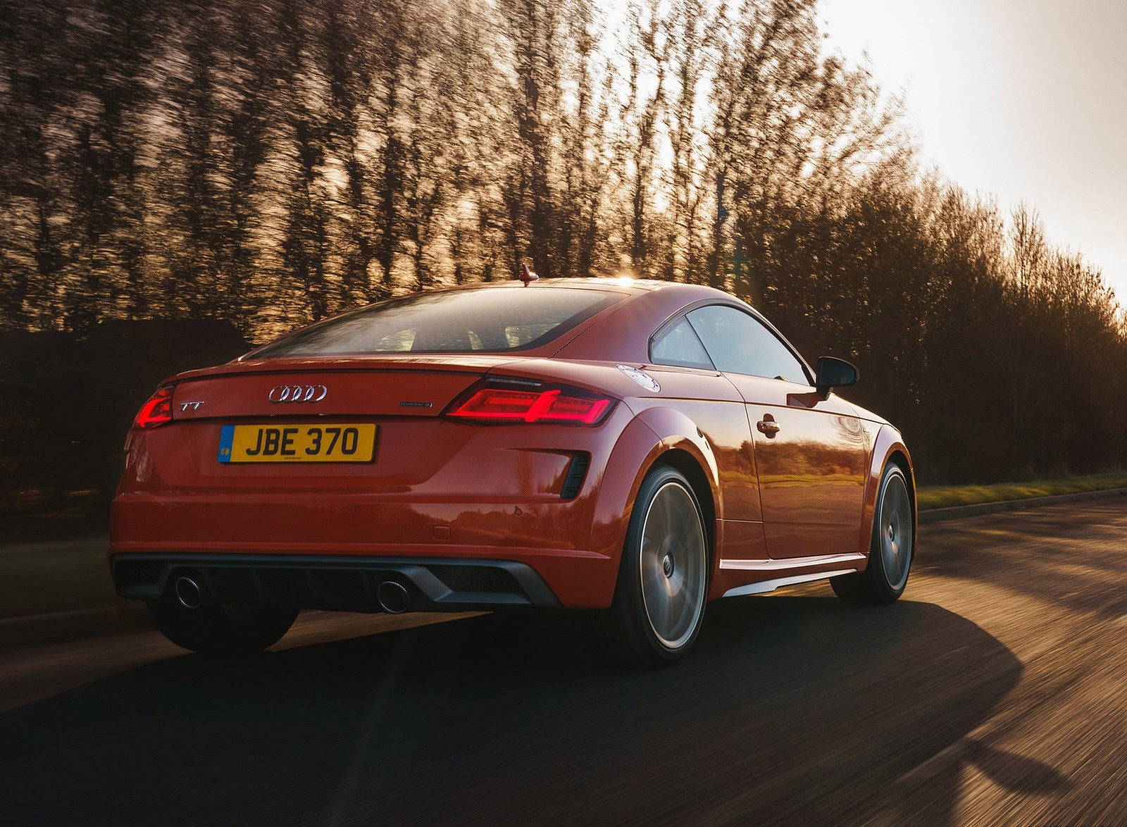 2019 Audi TT Coupe (UK-Spec) Rear Three-Quarter Wallpapers (15)