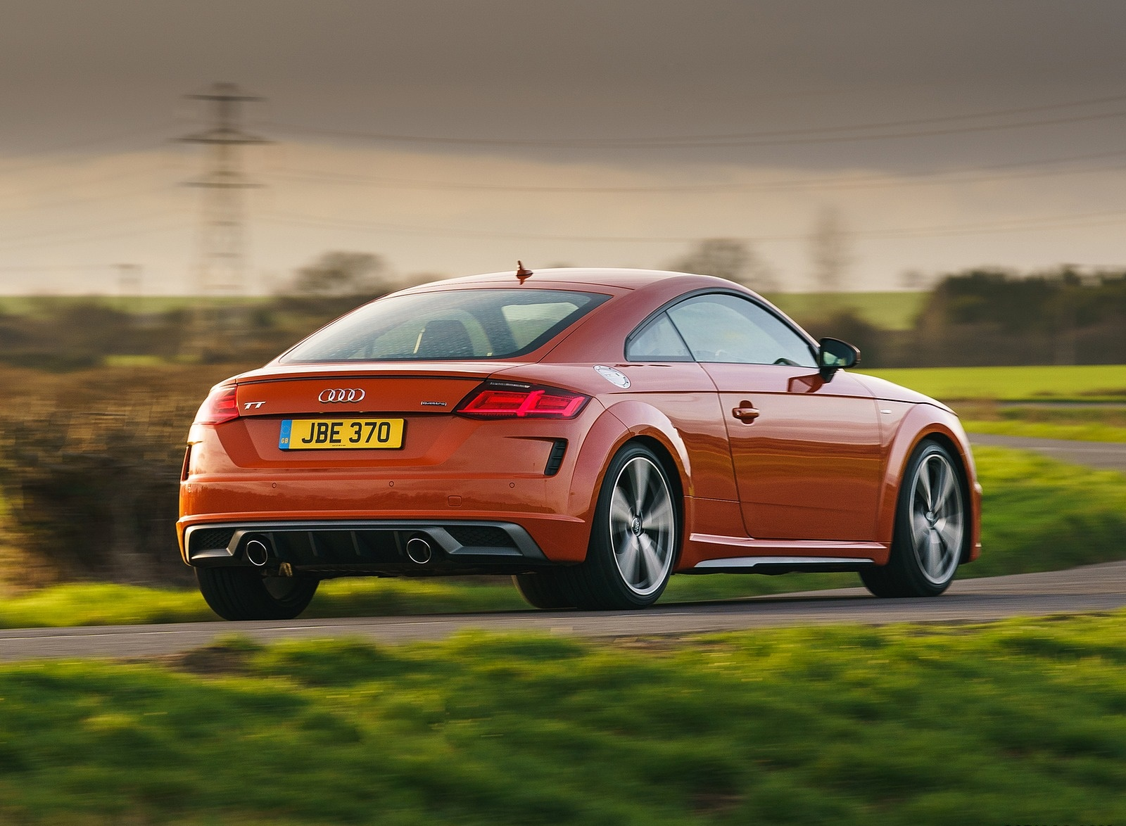 2019 Audi TT Coupe (UK-Spec) Rear Three-Quarter Wallpapers (7)