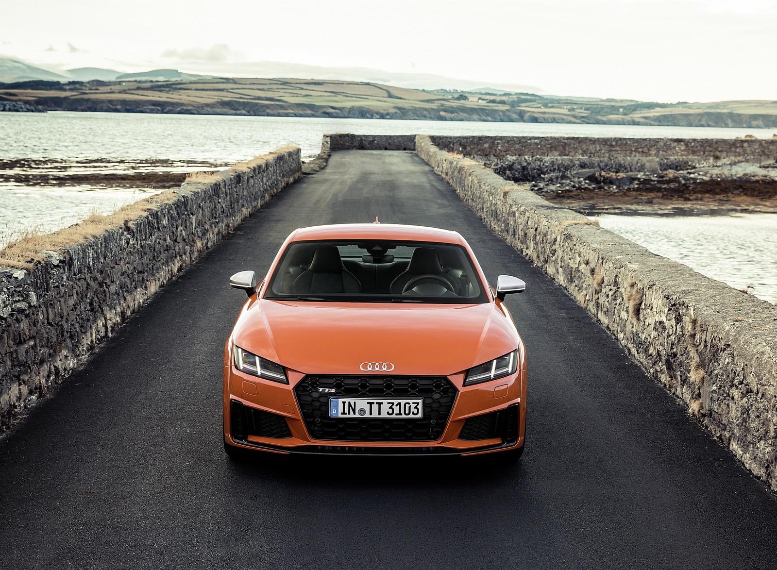 2019 Audi TTS Coupe (Color: Pulse Orange) Front Wallpapers (13)