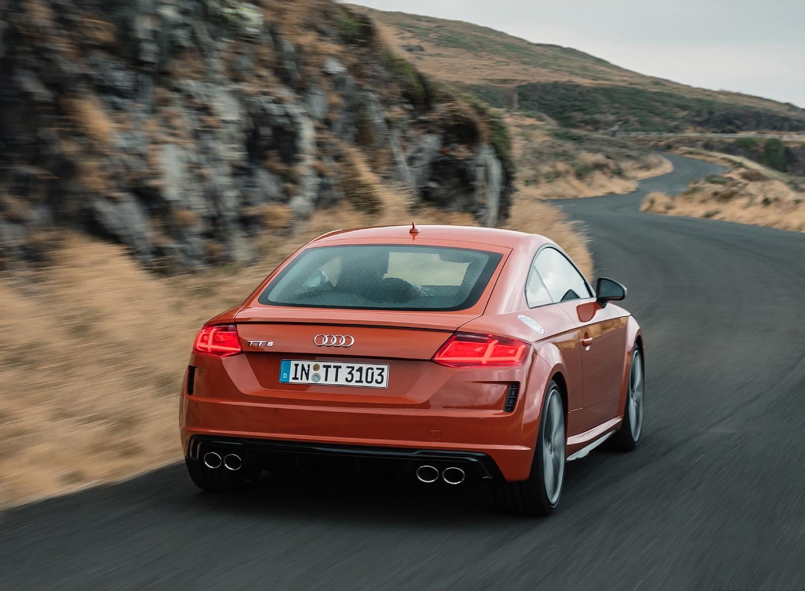 2019 Audi TTS Coupe (Color: Pulse Orange) Rear Wallpapers (11)