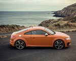 2019 Audi TTS Coupe (Color: Pulse Orange) Side Wallpapers 150x120 (16)