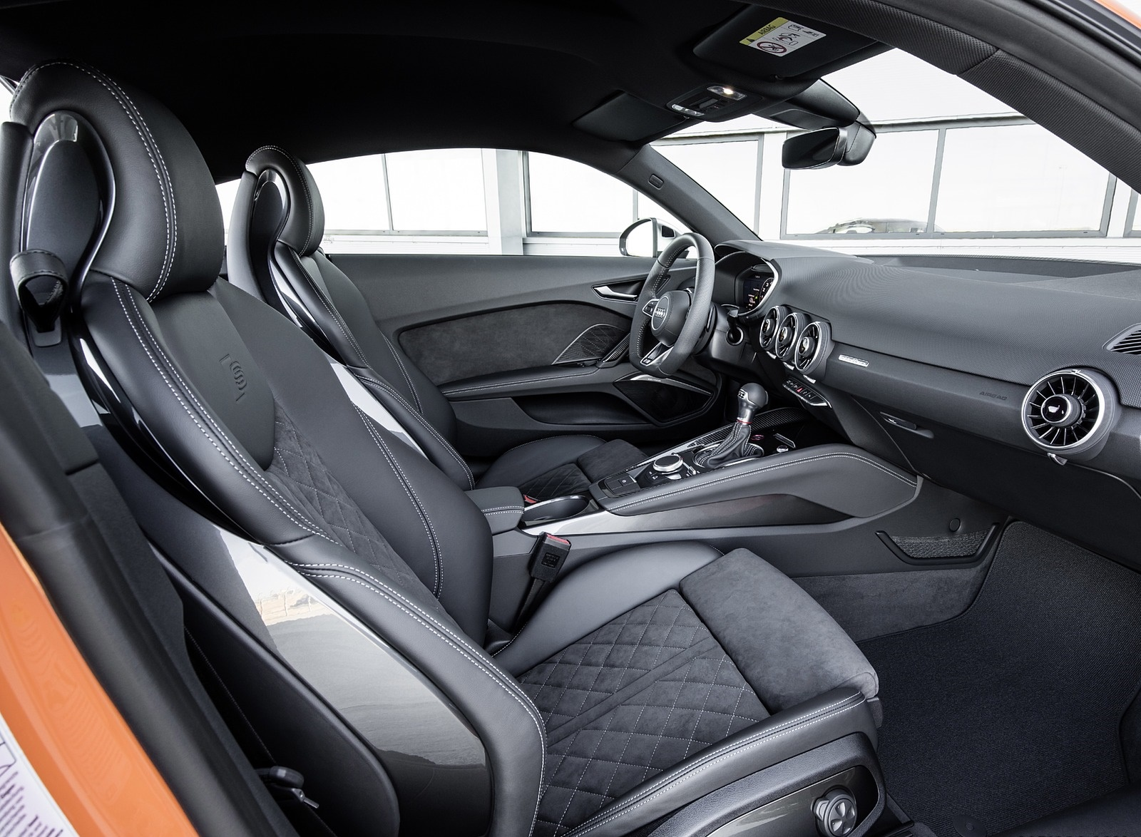 2019 Audi TTS Coupe Competition Interior Wallpapers (7)
