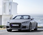 2019 Audi TTS Roadster (Color: Nardo Gray) Front Three-Quarter Wallpapers 150x120 (34)