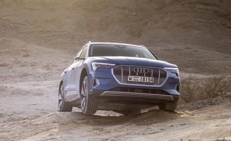 2019 Audi e-tron (Color: Antigua Blue) Front Wallpaper 450x275 (68)