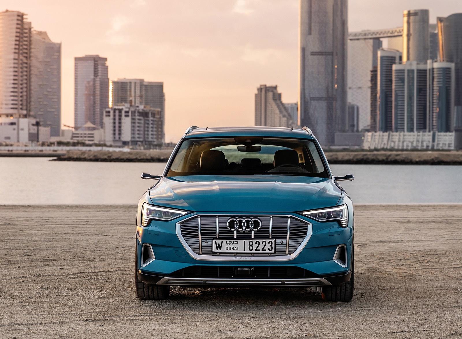 Audi E Tron Antigua Blue Audi Cars Review Release Raiacarscom