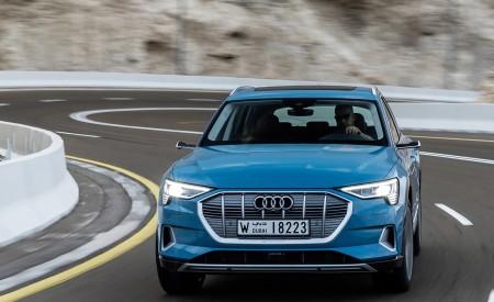 2019 Audi e-tron (Color: Antigua Blue) Front Wallpaper 450x275 (58)