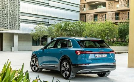 2019 Audi e-tron (Color: Antigua Blue) Rear Three-Quarter Wallpaper 450x275 (108)