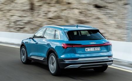 2019 Audi e-tron (Color: Antigua Blue) Rear Three-Quarter Wallpaper 450x275 (70)