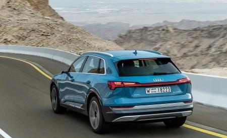 2019 Audi e-tron (Color: Antigua Blue) Rear Three-Quarter Wallpaper 450x275 (60)