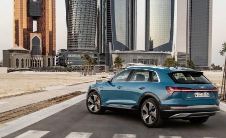 2019 Audi e-tron (Color: Antigua Blue) Rear Three-Quarter Wallpaper 450x275 (93)