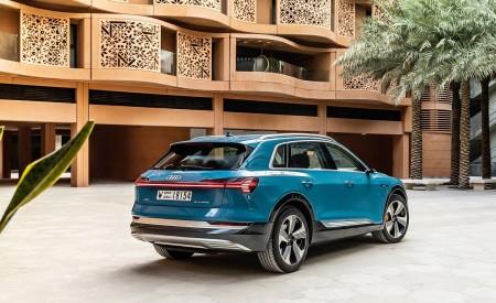 2019 Audi e-tron (Color: Antigua Blue) Rear Three-Quarter Wallpaper 450x275 (109)