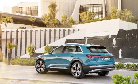 2019 Audi e-tron (Color: Antigua Blue) Rear Three-Quarter Wallpaper 450x275 (94)