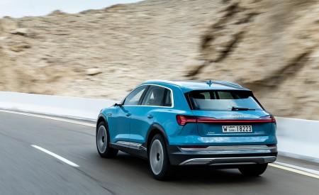2019 Audi e-tron (Color: Antigua Blue) Rear Three-Quarter Wallpaper 450x275 (82)