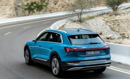 2019 Audi e-tron (Color: Antigua Blue) Rear Three-Quarter Wallpaper 450x275 (61)