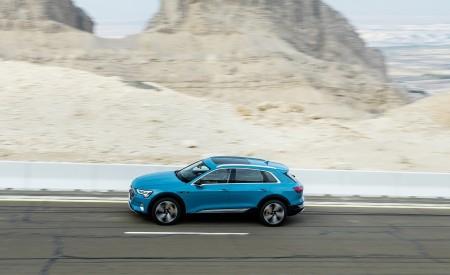 2019 Audi e-tron (Color: Antigua Blue) Side Wallpaper 450x275 (75)