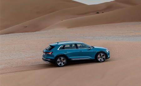2019 Audi e-tron (Color: Antigua Blue) Side Wallpaper 450x275 (95)