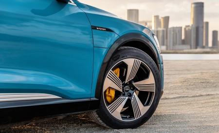 2019 Audi e-tron (Color: Antigua Blue) Wheel Wallpaper 450x275 (118)