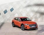 2019 Audi e-tron (Color: Catalunya Red) Front Three-Quarter Wallpapers 150x120 (34)