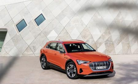 2019 Audi e-tron (Color: Catalunya Red) Front Three-Quarter Wallpaper 450x275 (34)