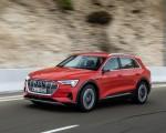 2019 Audi e-tron (Color: Catalunya Red) Front Three-Quarter Wallpapers 150x120 (25)