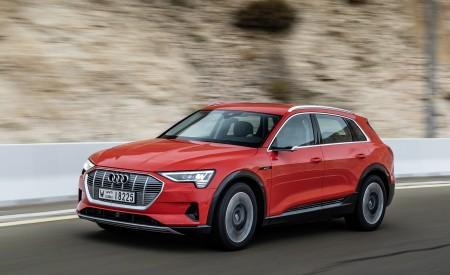 2019 Audi e-tron (Color: Catalunya Red) Front Three-Quarter Wallpaper 450x275 (25)