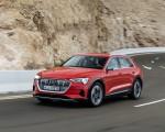 2019 Audi e-tron (Color: Catalunya Red) Front Three-Quarter Wallpapers 150x120 (4)