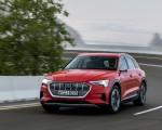 2019 Audi e-tron (Color: Catalunya Red) Front Three-Quarter Wallpapers 150x120 (5)